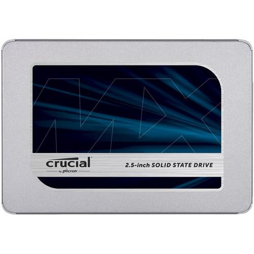 "Crucial MX500 2 TB Solid State Drive - SATA - 2.5"" Drive - Internal CT2000MX500SSD1"