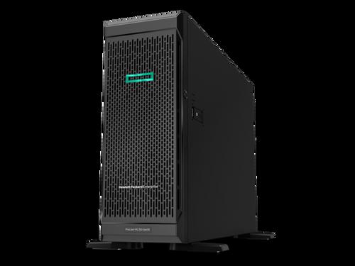 HPE ProLiant ML350 G10 4U Tower Server - 1 x Xeon Silver 4110 2.10 GHz - 16 GB RAM - 12Gb/s SAS, Serial ATA/600 Controller