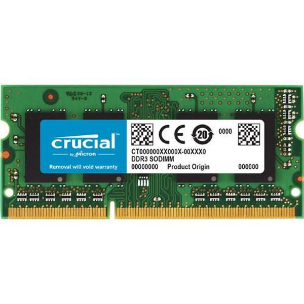 Crucial 8GB (1 x 8 GB) DDR3 SDRAM Memory Module CT102464BF160B