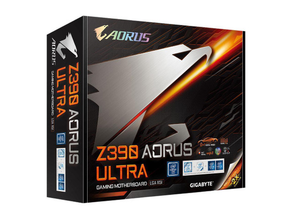 Aorus Ultra Durable Z390 Desktop Z390 AORUS ULTRA Motherboard - Intel Chipset - Socket H4 LGA-1151