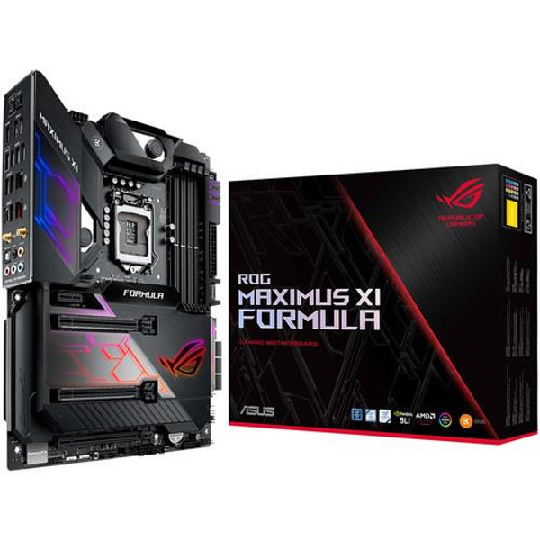 ASUS ROG MAXIMUS XI FORMULA Desktop Motherboard - Intel Chipset - Socket H4 LGA-1151