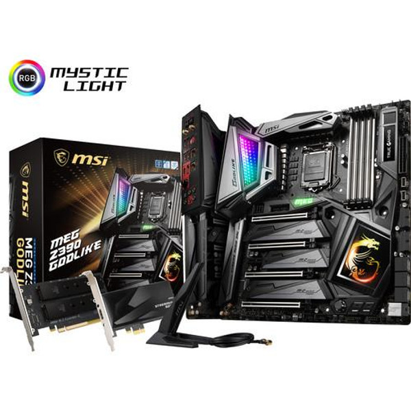 MSI MEG Z390 GODLIKE Desktop Motherboard - Intel Chipset - Socket H4 LGA-1151