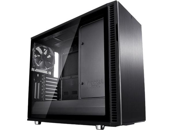 Fractal Design Define R6 USB-C - Tempered Glass Computer Case FD-CA-DEF-R6C-BKO-TGL
