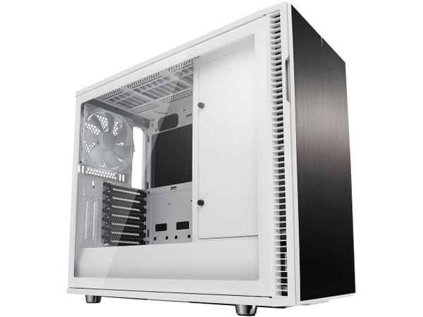 Fractal Design Define R6 USB-C - Tempered Glass Computer Case FD-CA-DEF-R6C-WT-TGC