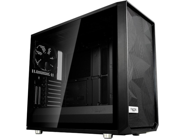 Fractal Design Meshify S2 - Tempered Glass Computer Case FD-CA-MESH-S2-BKO-TGD