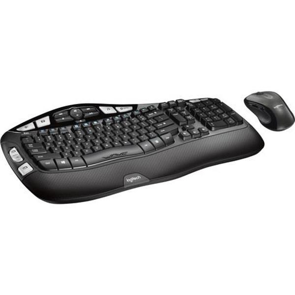 Logitech MK550 Wireless Wave Keyboard/Mouse Combo 920-002555