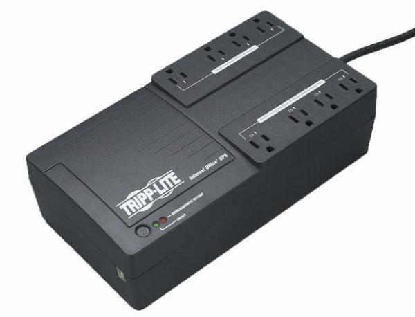 Tripp Lite UPS 550VA 300W AVR550U Desktop Battery Back Up AVR Compact 120V USB RJ11