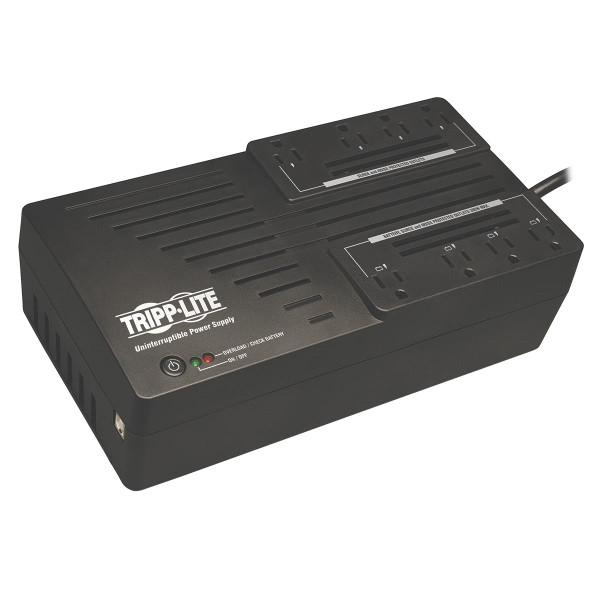 Tripp Lite UPS 650VA 325W AVR650UM Desktop Battery Back Up AVR Compact 120V USB Muted Alarm