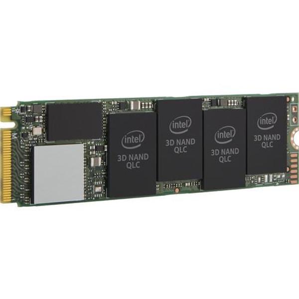 Intel 660p 1 TB Solid State Drive SSDPEKNW010T8X1 - PCI Express (PCI Express 3.0 x4) - Internal - M.2 2280