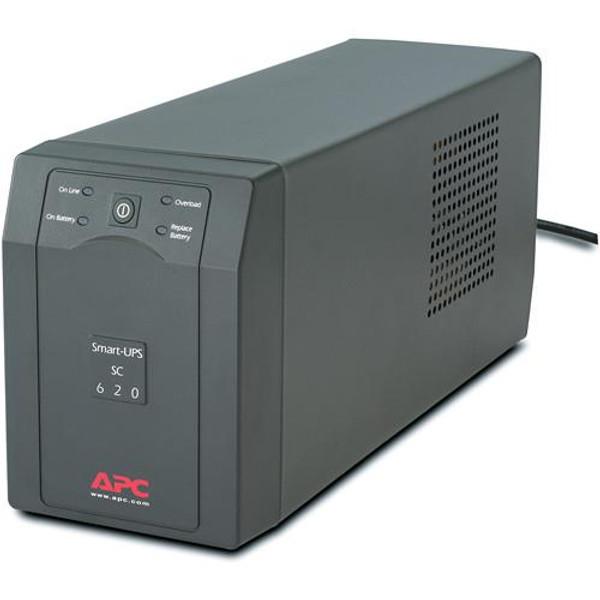 APC by Schneider Electric 620VA 390W SC620 UPS