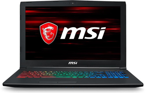 "MSI GF62 8RE-058 15.6"" Gaming Laptop (2.20 GHz Intel Core-i7-8750H, 16 GB DDR4 SDRAM, 1 TB HDD, 256 GB SSD, Windows 10 Home)"