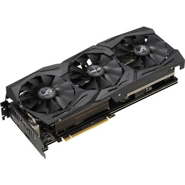 Asus NVIDIA ROG Strix GeForce RTX 2060 OC 6GB GDDR6 2HDMI/2DisplayPorts PCI-Express Video Card