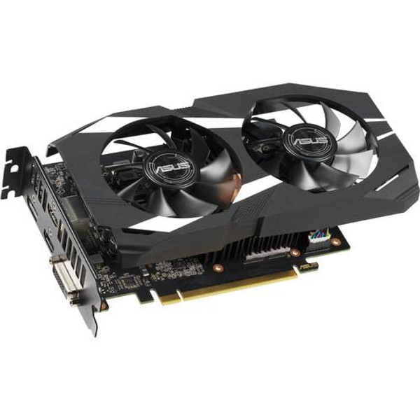 Asus Dual DUAL-GTX1660TI-O6G GeForce GTX 1660 Ti Graphic Card - 1.53 GHz Core - 1.83 GHz Boost Clock