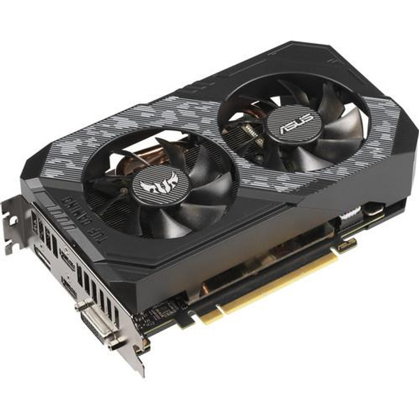 ASUS TUF-RTX2060-O6G-GAMING GeForce RTX 2060 Graphic Card - 1.37 GHz Core - 1.74 GHz Boost Clock