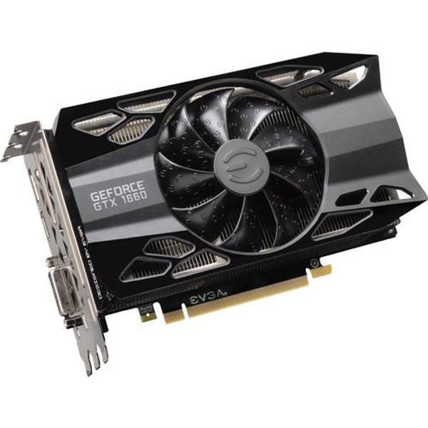 EVGA GeForce GTX 06G-P4-1163-KR 1660 Graphic Card - 1.83 GHz Boost Clock - 6 GB GDDR5