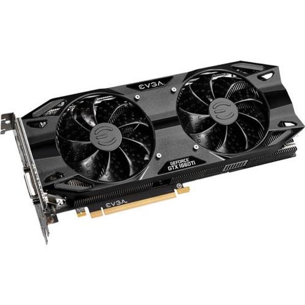 EVGA GeForce GTX 06G-P4-1267-KR 1660 TI Graphic Card - 1.86 GHz Boost Clock - 6 GB GDDR6