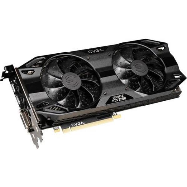 EVGA GeForce RTX 06G-P4-2067-KR 2060 Graphic Card - 1.76 GHz Boost Clock - 6 GB GDDR6