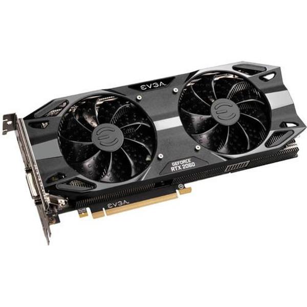 EVGA GeForce RTX 06G-P4-2167-KR 2060 Graphic Card - 1.83 GHz Boost Clock - 6 GB GDDR6