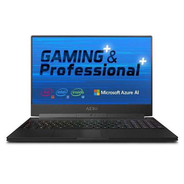 "Gigabyte AERO 15-X9-RT5P 15.6"" Laptop (2.2 GHz Intel Core-I7-8750H, 16GB DDR4 SDRAM, 1TB SSD, Windows 10 Pro)"