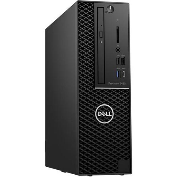 Dell Precision 3000 3430 SFF Workstation Desktop (3.20 GHz Intel Core-i7-8700, 16 GB DDR4 SDRAM, 1 TB HDD, Windows 10 Pro)