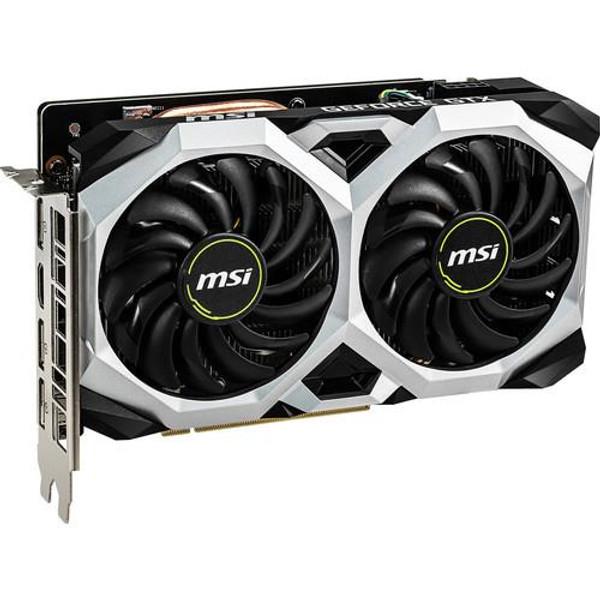 MSI NVIDIA GeForce GTX 1660 Ti VENTUS XS 6GB GDDR6 G1660TVXS6 HDMI/3DisplayPort PCI-Express Video Card