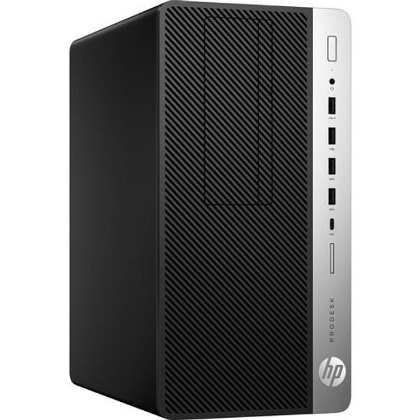 HP Business ProDesk 600 G4 4HM51UT#ABA Micro Desktop (3 GHz Intel Core-i5-8500, 4 GB DDR4 SDRAM, 500 GB HDD, Windows 10 Pro)