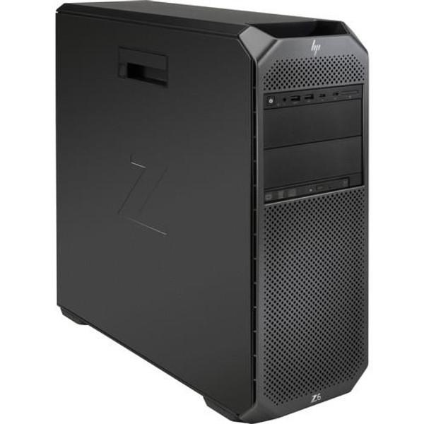 HP Z6 G4 2WZ66UT#ABA Workstation Desktop (2.10 GHz Intel  Xeon-4116, 16 GB DDR4 SDRAM, 512 GB SSD, Windows 10 Pro)