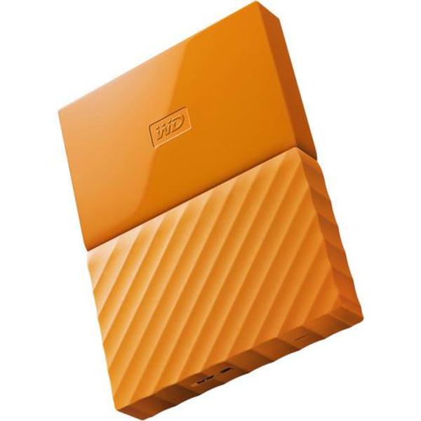 WD My Passport WDBYFT0030BOR-WESN 3 TB Hard Drive - External - Portable