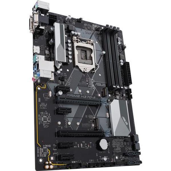 Asus Prime H370-A/CSM Desktop Motherboard - Intel Chipset - Socket H4 LGA-1151