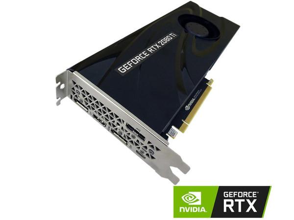 PNY Technology Video Card VCG2080T11BLMPB GeForce RTX 2080 Ti 11GB Blower Graphics Card Retail