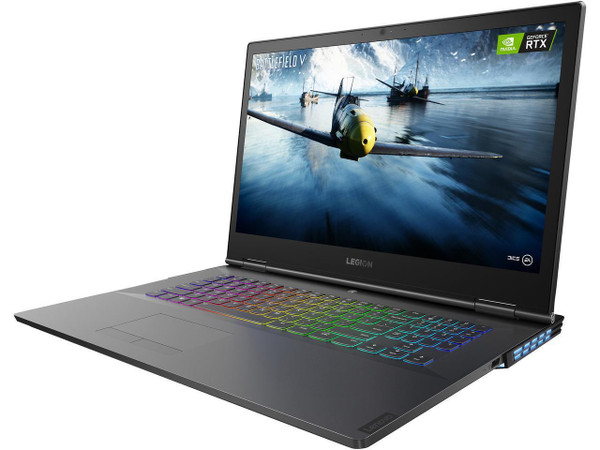 "Lenovo Legion Y740-17IRHg 81UJ0002US 17.3"" Gaming Laptop (2.60 GHz Intel Core-i7-9750H, 16 GB DDR4 SDRAM, 1 TB HDD, 512 GB SSD, Windows 10 Home)"