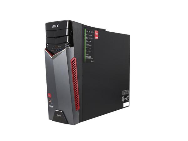 Acer Aspire GX-281 Desktop (3.40 GHz AMD Ryzen-7-1700X, 16 GB DDR4 SDRAM, 1 TB HDD - 256 GB SSD, Windows 10 Home)
