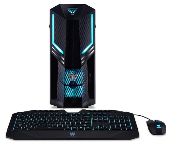 Acer Predator PO3-600 DG.E1BAA.005 Gaming Desktop (3.20 GHz Intel Core-i7-8700, 16 GB DDR4 SDRAM, 2 TB HDD, 256 GB SSD, Windows 10 Pro)
