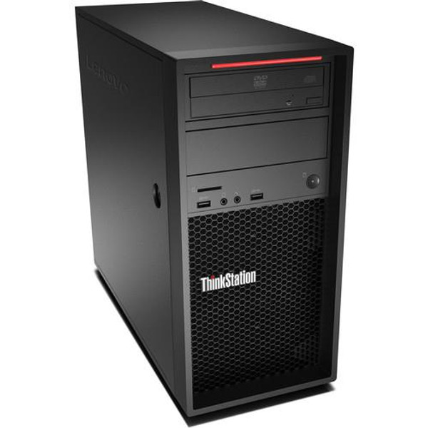 Lenovo ThinkStation P520c 30BX001AUS Workstation Desktop (3.60 Ghz Intel Xeon W-2123, 16 GB DDR4 RAM, 512 GB SSD, Windows 10 Pro)
