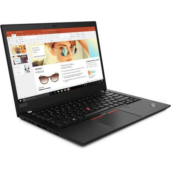 "Lenovo ThinkPad T495 20NJ0008US 14"" Laptop (2.30 GHz AMD Ryzen-7-3700U, 16 GB DDR4 SDRAM, 512 GB SSD, Windows 10 Pro)"
