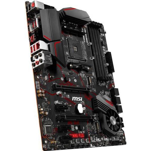 MSI MPG X570 GAMING PLUS Desktop Motherboard - AMD Chipset - Socket AM4