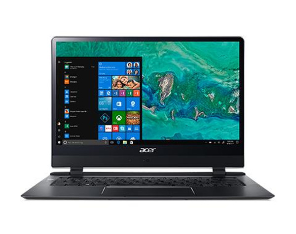 "Acer Swift 7 SF714-51T-M4PV 14"" Touchscreen Laptop (1.30 GHz Intel Core-i7-7Y75, 8 GB DDR4 SDRAM, 256 GB SSD, Windows 10 Pro)"