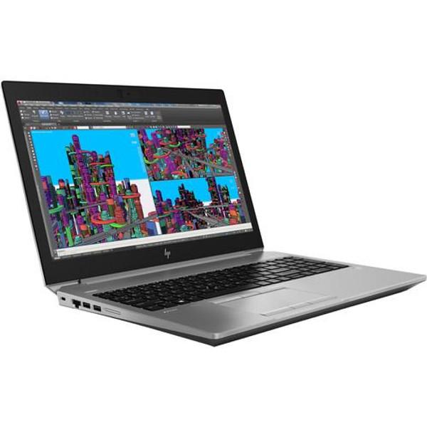 "HP ZBook 15 G5 15.6"" 4RG72UT#ABA Mobile Workstation Laptop (2.20 GHz Intel Core-i7-8750H, 16 GB DDR4 SDRAM, 512 GB SSD, Windows 10 Pro)"
