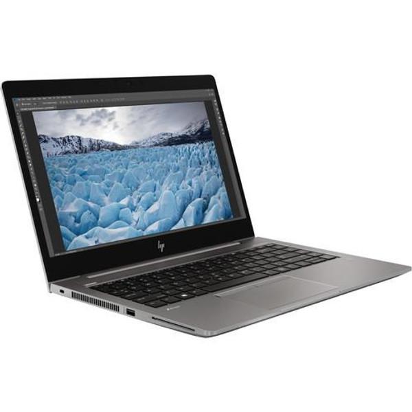 "HP ZBook 14u G6 7JM77UT#ABA 14"" Mobile Workstation Laptop (1.80 GHz Intel Core-i7-8565U, 8 GB DDR4 SDRAM. 256 GB SSD, Windows 10 Pro)"