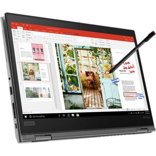 "Lenovo ThinkPad X390 Yoga 20NN0010US 13.3"" Touchscreen 2 in 1 Laptop (1.80 GHz Intel Core-i7-8565U, 16 GB DDR4 SDRAM, 512 GB SSD, Windows 10 Pro)"