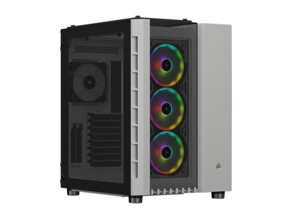Corsair Crystal Series 680X RGB CC-9011169-WW White Steel / Plastic High Airflow Tempered Glass ATX Smart Case