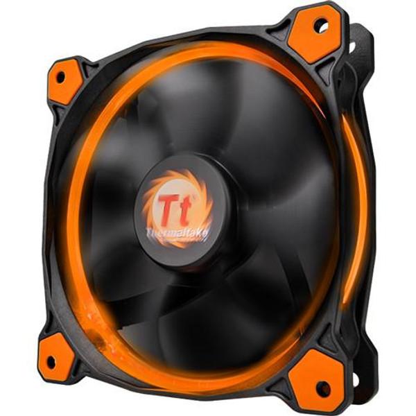 Thermaltake Riing 12 LED 120mm Radiator Fan CL-F038-PL12OR-A (Orange)
