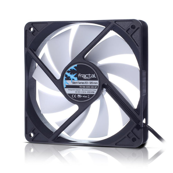 Fractal Design FD-FAN-SSR3-120-WT Silent Series R3 120mm