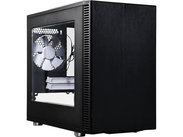 Fractal Design FD-CA-DEF-NANO-S-BK-W Define Nano S - Window Computer Case