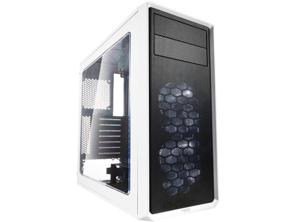 Fractal Design FD-CA-FOCUS-WT-W Focus G Computer Case with Side Window - White