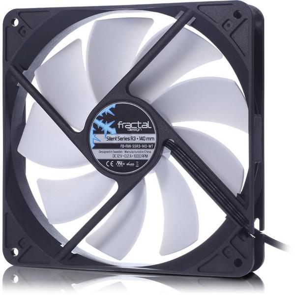 Fractal Design Silent R3 140mm Cooling Fan - White
