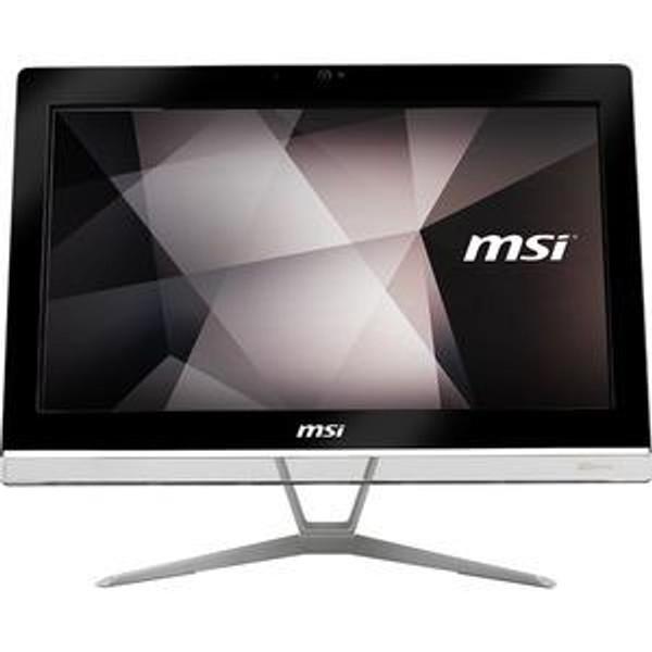 """MSI PRO 20EX 8GL PRO 20EXTS 8GL-024US All-in-One 19.5"""" Desktop (1.10 GHz Intel Pentium Silver N5000, 4 GB DDR4 SDRAM, 500 GB HDD, 32 GB SSD, Windows 10 Pro)"""