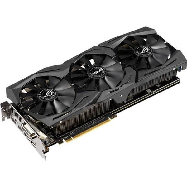 Asus ROG Strix ROG-STRIX-RX590-8G-GAMING Radeon RX 590 Graphic Card - 8 GB GDDR5