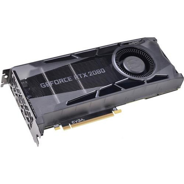 EVGA GeForce RTX 2080 08G-P4-3080-KR Super Graphic Card - 8 GB GDDR6
