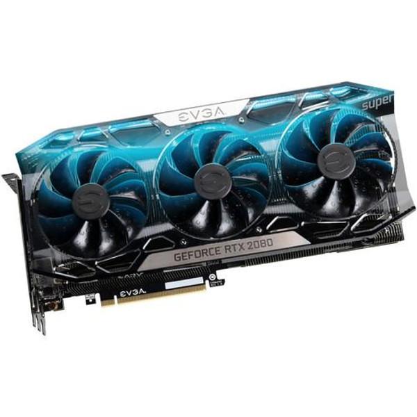 EVGA GeForce RTX 2080 08G-P4-3287-KR Super Graphic Card - 8 GB GDDR6